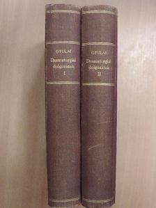 Bartók Lajos - Dramaturgiai dolgozatok I-II. [antikvár]