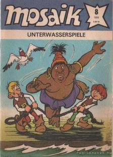 Unterwasserspiele - Mosaik 1988/8 [antikvár]