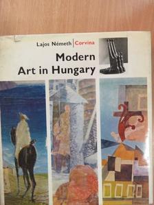 Németh Lajos - Modern Art in Hungary [antikvár]