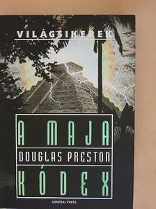 Douglas Preston - A maja kódex [antikvár]
