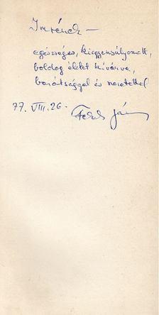 Fekete János - Medúzák (dedikált) [antikvár]