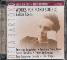 Bartók Béla - WORKS FOR PIANO SOLO 2. CD