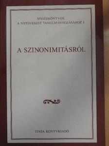 Andor József - A szinonimitásról [antikvár]