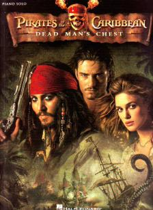 ZIMMER HANS - PIRATES OF THE CARIBBEAN, DEAD MAN'S CHEST FOR PIANO SOLO