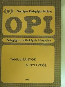 Bánréti Zoltán - Tanulmányok a nyelvről [antikvár]