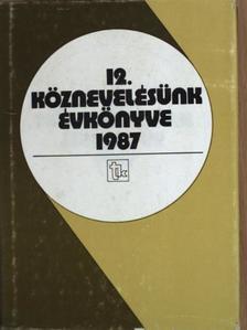 Árok Antal - Köznevelésünk évkönyve 1987. [antikvár]