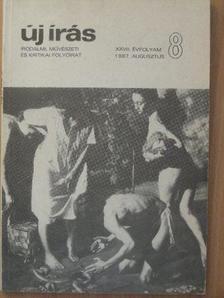 Ágh István - Új Írás 1987. augusztus [antikvár]