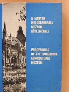 Axel Steensberg - A Magyar Mezőgazdasági Múzeum közleményei 1971-1972 [antikvár]