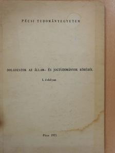 Tamás Lajos - Az állami vállalatok és szerződéses kapcsolataik a Jugoszláv Szocialista Szövetségi Köztársaságban (dedikált példány) [antikvár]