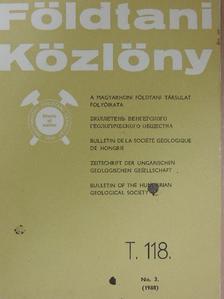 Antonyina Dudko - Földtani Közlöny 1988/3. [antikvár]