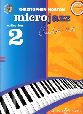 NORTON, CHRISTOPHER - MICROJAZZ COLLECTION 2 FOR PIANO WITH PLAYALONG CD
