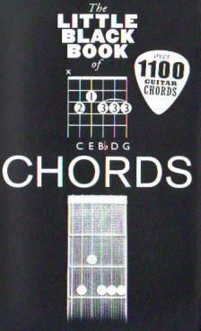 LITTLE BLACK SONGBOOK - LBB CHORDS : OVER 1100 GUITAR CHORDS