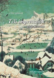 SUBA SÁNDOR - Téli Impressziók - gitár kvartett