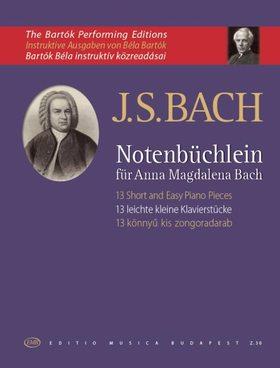 J. S. Bach - TIZENHÁROM KÖNNYŰ KIS ZONGORADARAB (BARTÓK BÉLA)