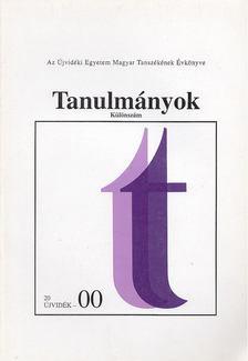 Láncz Irén - Tanulmányok 2000/különszám [antikvár]