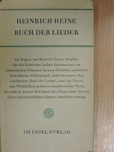 Heinrich Heine - Buch der Lieder [antikvár]