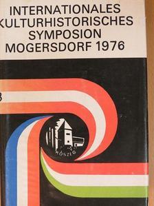 """Dusan Plecas - Nemzetközi kultúrtörténeti szimpozion """"Mogersdorf"""" 1976 Kőszegen [antikvár]"""