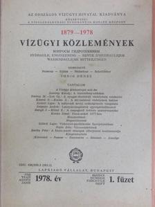 Balogh János - Vízügyi Közlemények 1978/1. [antikvár]