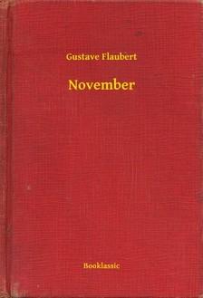 Gustave Flaubert - November [eKönyv: epub, mobi]