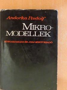 Andorka Rudolf - Mikromodellek [antikvár]
