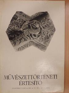 Baranyai Béláné - Művészettörténeti Értesítő 1966/3-4. [antikvár]