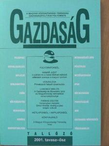 Akar László - Gazdaság 2001. tavasz-ősz [antikvár]