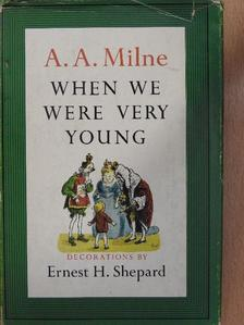 A. A. Milne - When We Were Very Young [antikvár]
