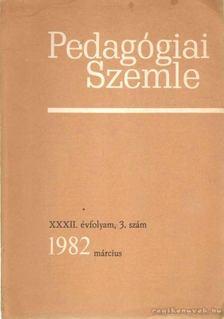 Balogh László - Pedagógiai Szemle 1982. március [antikvár]