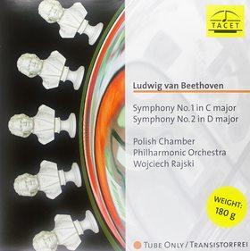 BEETHOVEN - SYMPHONIES NO.1,2 LP RAJSKI, POLISH CHAMBER PHILHARMONIC ORCHESTRA
