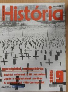 Balogh Sándor - História 2005/9. [antikvár]