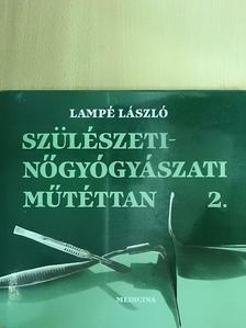 Lampé László - Szülészeti-nőgyógyászati műtéttan 2. (töredék) [antikvár]