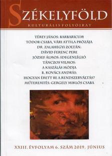Borsodi L. László - Székelyföld 2019. június [antikvár]