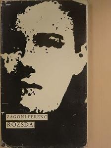 Zágoni Ferenc - Rozsda [antikvár]
