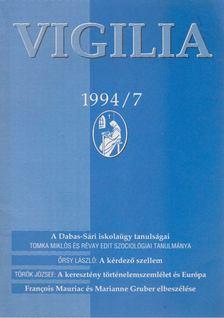 Lukács László - Vigilia 1994/7 [antikvár]