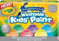 Crayola Metál festék 6 db-os