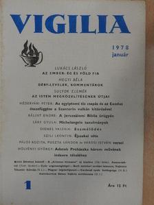 Babits István - Vigilia 1978. január [antikvár]
