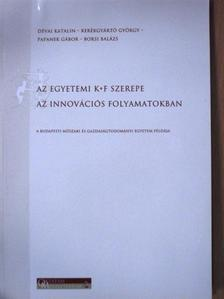 Borsi Balázs - Az egyetemi K+F szerepe az innovációs folyamatokban [antikvár]