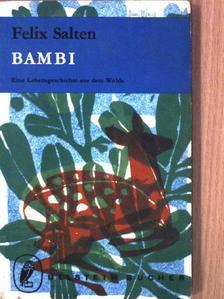 Felix Salten - Bambi, eine Lebensgeschichte aus dem Walde [antikvár]