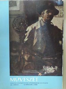 B. Haulisch Lenke - Művészet 1961. április [antikvár]