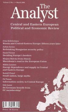 Zalai István - The Analyst 2006/March [antikvár]