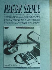 Axel Nordheimer - Magyar Szemle 1992. december [antikvár]