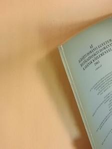 Csáky Antal - Az Agrártudományi Egyetem Mezőgazdaságtudományi Karának közleményei 1965  [antikvár]
