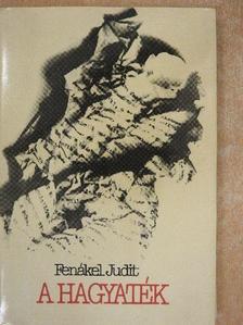 Fenákel Judit - A hagyaték [antikvár]