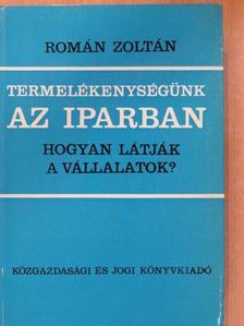 Román Zoltán - Termelékenységünk az iparban [antikvár]