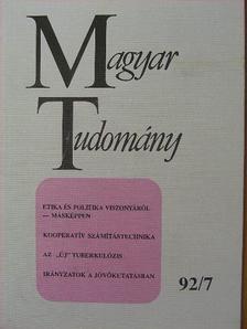 Fábry Zoltán - Magyar Tudomány 1992. július [antikvár]