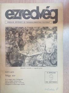 Ágai Ágnes - Ezredvég 1996. szeptember [antikvár]