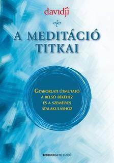 Davidji - A meditáció titkai [eKönyv: epub, mobi]