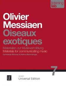 WIMMER & SCHMIDINGER - MESSIAEN: OISEAUX EXOTIQUES. LISTENING LAB,MATERIALIEN ZUR MUSIKVERMITTLUNG 7