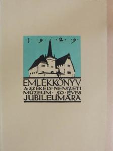 Andriesescu - Emlékkönyv a Székely Nemzeti Múzeum ötvenéves jubileumára II. (töredék) [antikvár]