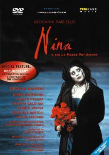 PAISIELLO - NINA DVD FISCHER ÁDÁM, BARTOLI, POLGÁR, KAUFMANN